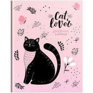"""Дневник 1-4 кл. 48л. (твердый) """"Рисунки. Cat lover"""", матовая ламинация, выборочный лак"""