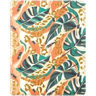 """Дневник 1-11 кл. 48л. (лайт) """"Jungle"""", иск. кожа, ляссе, фольга, печать"""