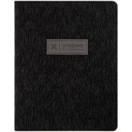 "Дневник 1-11 кл. 48л. (лайт) ""Monocolor. Black"", иск. кожа, ляссе, тиснение"