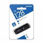 Флэш USB 3.0 накопитель 128GB Dock Black (SB128GBDK-K3)