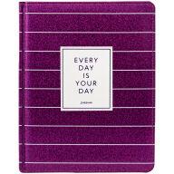 "Дневник 1-11 кл. 48л. (твердый) ""Trendy purple"", иск. кожа, ляссе, тиснение"