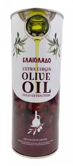 Натуральное оливковое масло ELAIOLADO Extra Virgin Olive Oil (Греция), 1л