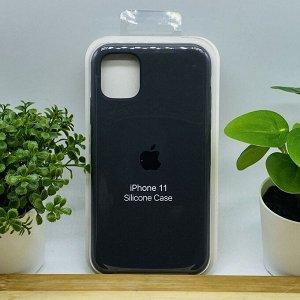 Силиконовый чехол для IPHONE 11 цвет №22 (все наклейки,лого вырезан, микрофибра,не пачкается,улучшенное качество)