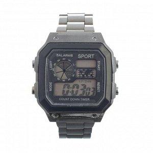 Часы наручные электронные Sport с будильником, секундомером, таймером, календарём