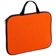 Папка-сумка с ручками А4, 1 отделение на молнии Color  Zone, оранжевый