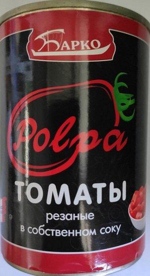 """Барко """"Pelati"""" Томаты резаные в томатном соке 425 мл"""