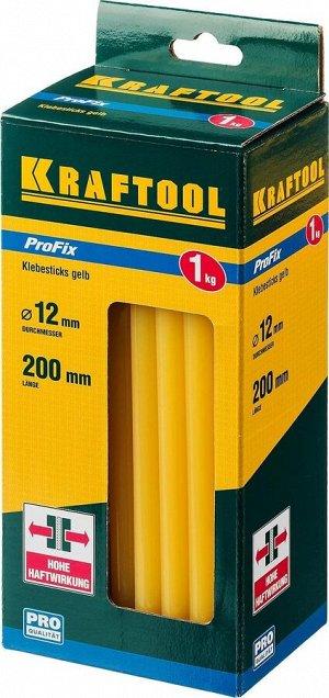 KRAFTOOL Yellow  желтые сверхсильные клеевые стержни