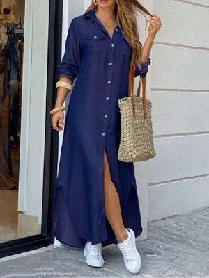 Платье Ткань джинсовый стрейч Длина платье 130 см