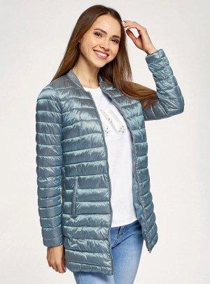 Куртка стеганая удлиненная