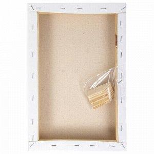 Холст 3D на подрамнике BRAUBERG ART CLASSIC 20х30см, 440г/м, грунт, 100% хлопок мелкое зерно, 191662