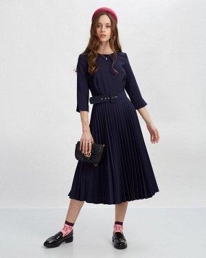 Платье жен. (193921) темно-синий