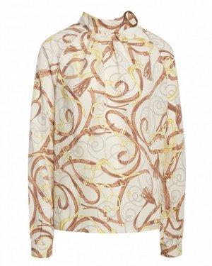 Блузка жен. (002163) молочно-коричневый