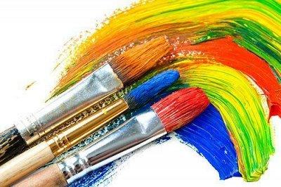 Рельефная канцелярия — готовимся к учебному году — Кисти, краски