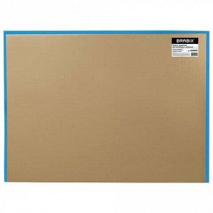 Коврик защитный напольный BRABIX, поликарбонат, 120х150 см, глянец, толщина 1 мм, 604847