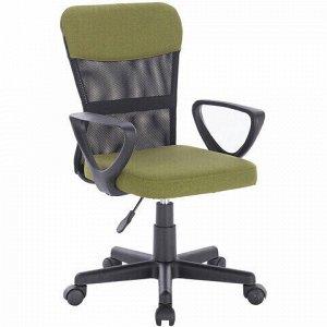 """Кресло КОМПАКТНОЕ BRABIX """"Jet MG-315"""", с подлокотниками, зеленое, 531841"""