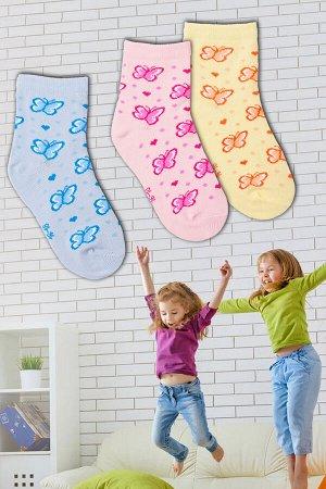 Носки Бабочки детские