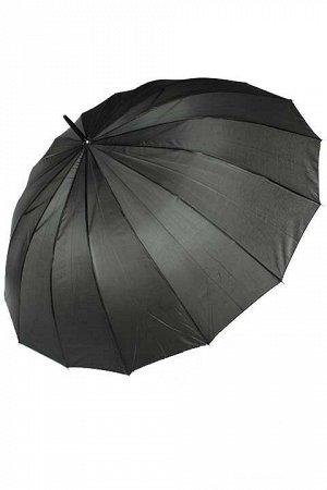 Зонт-трость семейный, прочный каркас.