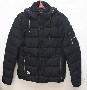 Куртка мужская зимняя чёрная