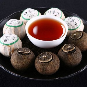 ПУЭР мандарин (Чэнь Нянь)код-45