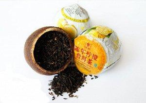 Чай ПУЭР - лимон  код-81