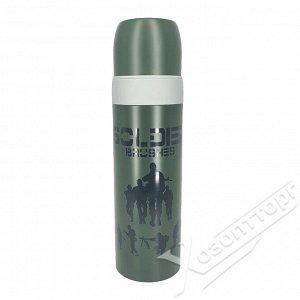 """Термос-бутылка """"Soldier Brushes"""" 500мл OLS-464-7"""