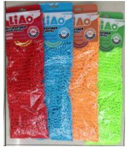 Насадка на швабру из микрофибры Liao размер 43*13см цвет оранжевый/Арт.R130007-O/248671/LA
