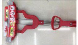 Швабра со съемной насадкой 27*5,5см и телескопической ручкой из металла Liao /Арт.A130054/703911/LA