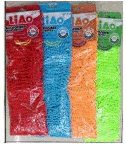Насадка на швабру из микрофибры Liao размер 43*13см цвет голубой/Арт.R130007-B/705182/LA