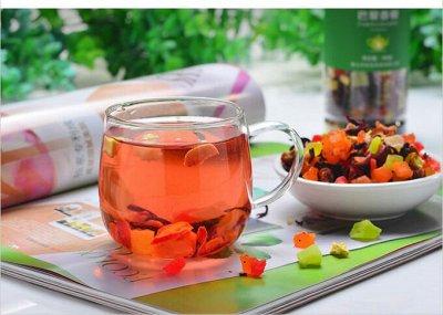 Чай Китая! Зеленый, Пуэр, Фруктовый! Лапша, Сладости, Снеки — Фруктовый чай — Чай