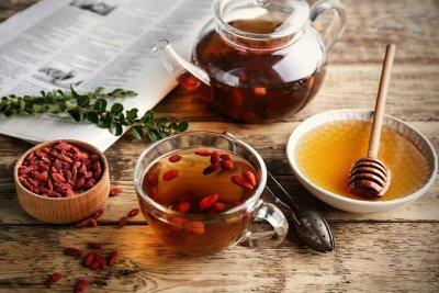 Чай Китая! Зеленый, Пуэр, Фруктовый! Лапша, Сладости, Снеки — Чаи Ягодные, Цветочные. Ягоды Годжи. — Чай
