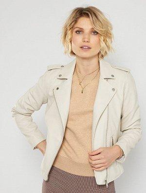 Куртка в байкерском стиле