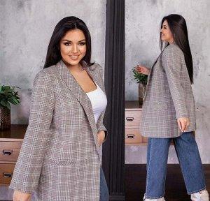 Пиджак Ткань костюмная с подкладкой
