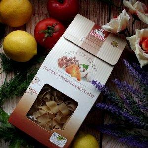 Макароны 250 г с грибным ассорти Pasta la Bella Speciale