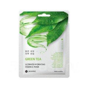 Ежедневная увлажняющая маска для лица с экстрактом Зелёного чая