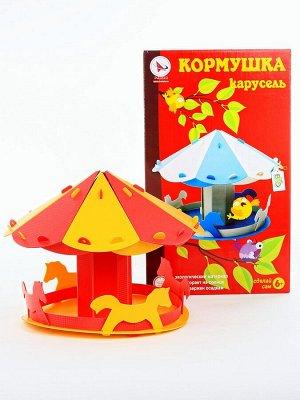 "Кормушка  ""Веселая карусель"" 40Х27Х23 см, арт.6116"