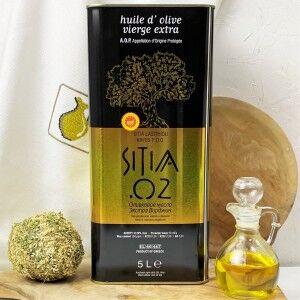 Оливковое масло P.D.O. Sitia 02%, о.Крит, жест.банка, 5л