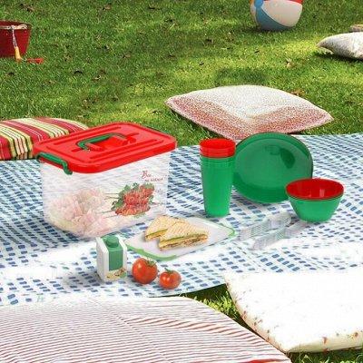 🏞Лучший отдых в Майские праздники - собираемся на шашлычок — Наборы посуды для пикника — Туризм и активный отдых