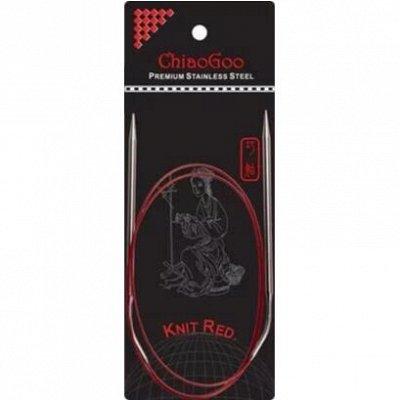 Вселенная вязания. Заказ от одного мотка! Спицы CHIAOGOO! — Круговые металлические спицы с изогнутым соединением Knit Re — Спицы и крючки