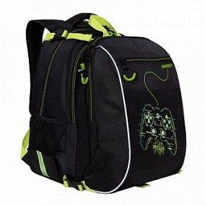 RB-158-2 Рюкзак школьный с мешком