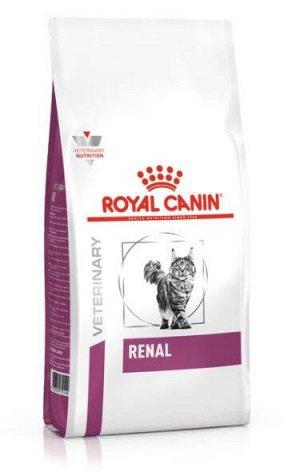 Royal Canin Renal диета сухой корм для кошек от 1 года с хронической почечной недостаточностью, 2кг