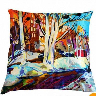 Мягкие Подушки, Теплые Одеяла, Наматрасники, Чехлы на мебель — Декоративные Подушки — Декоративные подушки