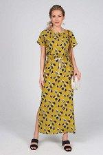 Платье Селена №2.Цвет:цветы