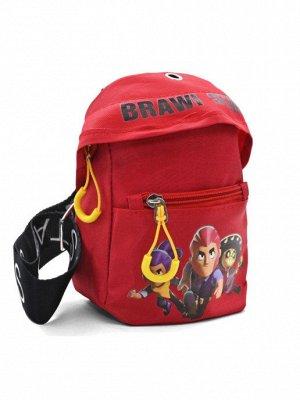 Сумка - рюкзак красный