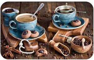 Сервировочная салфетка 26х41см Кофе