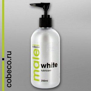 Cobeco Male White, Белая анальная смазка, 250 мл