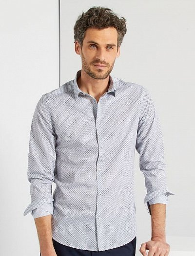 Одежда из Франции для всей семьи — Мужчины. Рубашки