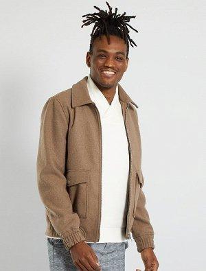 Легкая куртка из шерсти