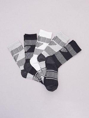 Комплект из 5 пар спортивных носков