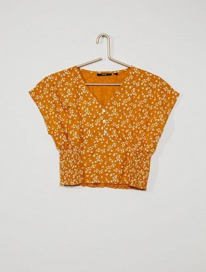 Блузка со сборками