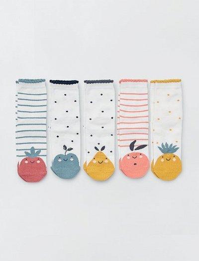 Одежда из Франции для всей семьи! — Девочки. Чулочно-носочные изделия. — Носки и гольфы